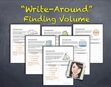 """Write-Around"": Finding Volume ENGAGE ALL STUDENTS!"