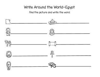 Write Around The World Write the Room