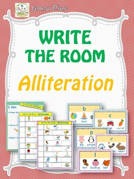 Write Around the Room- Alliteration