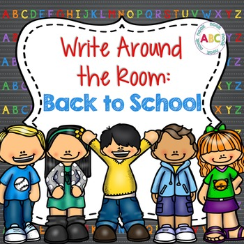 Write Around the Room: Back to School