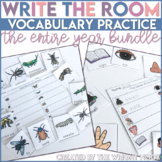 Write The Room the Entire Year Vocabulary MEGA Bundle