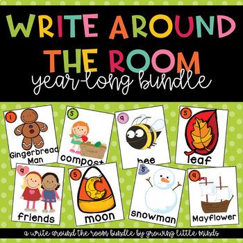 Write Around the Room Seasonal Bundle