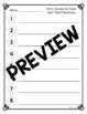 Write Around the Room - Simple Sight Word Sentences