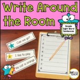 Write Around the Room Sight Word Sentences