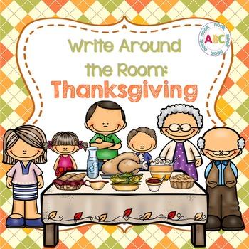 Write Around the Room: Thanksgiving