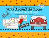 Write Around the Room Transportation Words