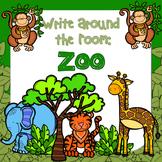 Write Around the Room: Zoo Animals