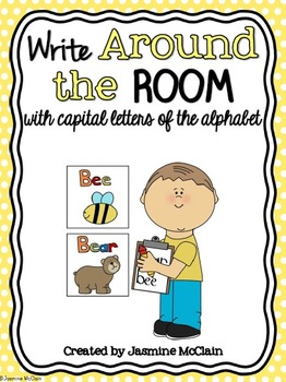 Write Around the Room with Capital Letters