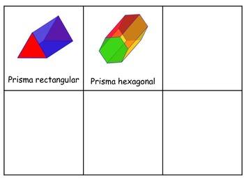 3D Shapes Write Around the Room/Figuras 3D Escribiendo alr