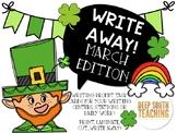 Write Away! March Edition: Seasonal Writing Prompts