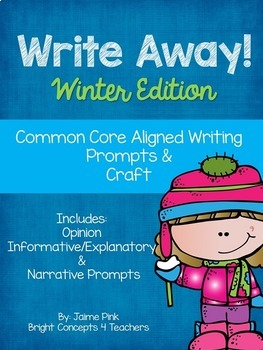 Write Away! The BUNDLE {Common Core Writing Prompts & More}