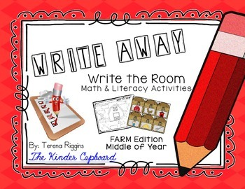 Write Away! Write the Room { FARM Edition}