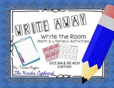 Write Away! Write the Room { Ocean & Beach Edition }