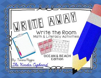 Write Away! Write the Room { Ocean & Beach Edition }