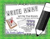 Write Away! Write the Room { Spring Plants Insects Edition }