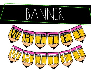 WRITE! Banner