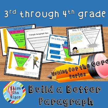 Paragraph Writing (Grades 3-4)