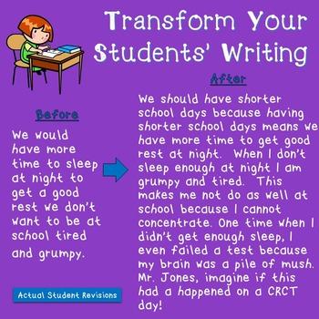 Paragraph Writing (Grades 5-8)