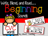 Distance Learning with Seesaw: CVC Words (Beginning Sounds)