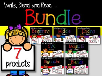 Write, Blend, and Read: BUNDLE