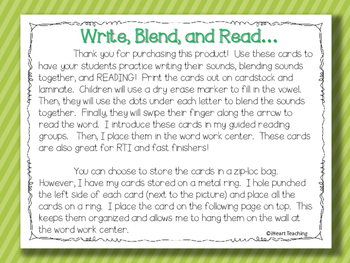 Write, Blend, and Read: Magic E Words