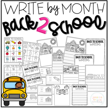 Write By Month - Back to School