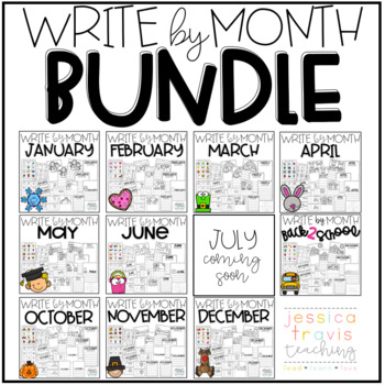 Write By Month - THE BUNDLE