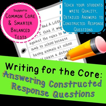 Write Clear Answers to Constructed Response Questions (R.A.I.S.E acronym)
