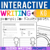 Kindergarten Writing Prompts: 30 Interactive Journal Pages
