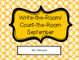 Write/Count the Room: September