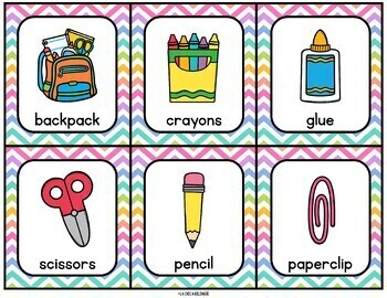 Write & Count the Room {Back to School}