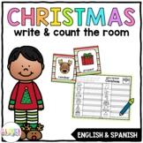 Write & Count the Room {Christmas}