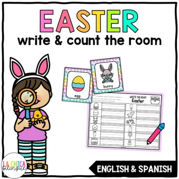 Write & Count the Room {Easter}