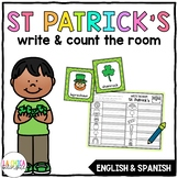 Write & Count the Room {St. Patrick's Day}