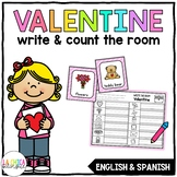 Write & Count the Room {Valentine's Day}