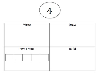 Write Draw Build Five Frame