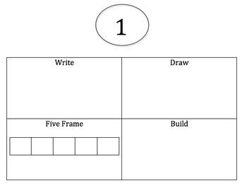 Write Draw Build Five Frame