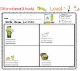 DIGRAPHS Differentiated Literacy Center | Write Draw Color