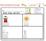SHORT VOWELS CVC Differentiated Literacy Center | Write Dr