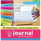 Write & Draw Journal for the Year Bundle