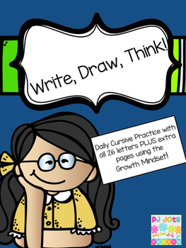 Write, Draw, Think!