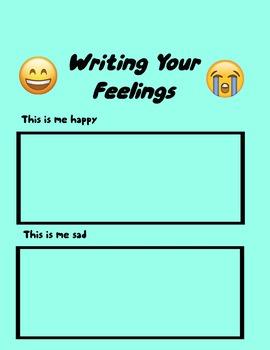Write/Draw Your Feelings