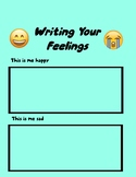 Write/Draw Your Feelings