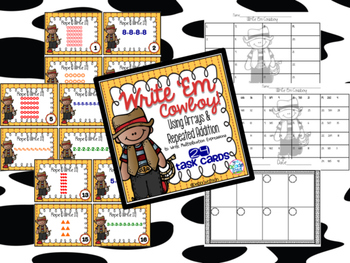 Write Multiplication Sentences from Arrays & Repeated Addition
