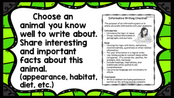 Write Every Day! Informative Writing Prompts 4th Grade