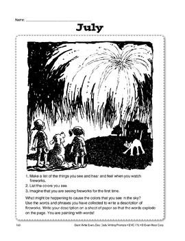 Write Every Day: July