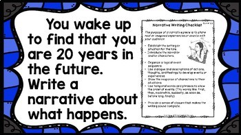 Write Every Day! Narrative Writing Prompts 3rd Grade