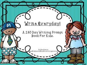 Writing Prompts for the Whole Year! A 180 Day Writing Prompt Book.