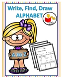 Write, Find, Draw  Alphabet Book