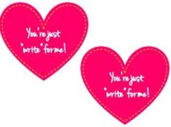 """""""Write"""" For Me Valentine's Card"""